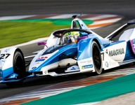 Sims, Andretti BMW lead opening day of Formula E testing