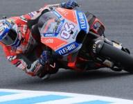 Dovizioso leads Motegi MotoGP practice