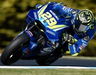 Iannone fastest in MotoGP Phillip Island practice
