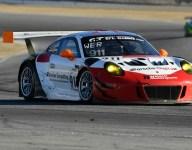 Porsche leads the way in California 8 Hours practice