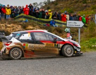 Latvala leads 6-way Rally Spain fight