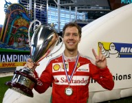 Vettel to compete at Race of Champions in Mexico