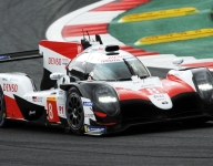 No. 8 Toyota leads interrupted FP1 at Fuji