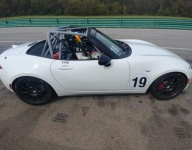 New Mazda Global MX-5 Cup car completes first test