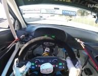 Video: Colton Herta Hyundai TCR visor cam at Laguna Seca