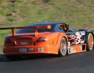 Lewis hangs on for GT-1 Runoffs win