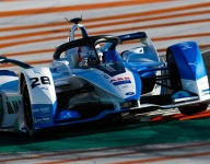 Da Costa tops second day of Valencia testing