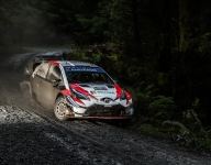 Tanak leads, Ogier charges into second in Wales