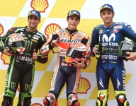 Marquez takes Sepang pole but receives 6-place penalty