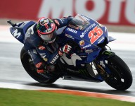 Vinales fastest in second day of Valencia testing