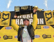 Pro Stock's Gray becomes youngest NHRA champion