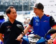 Honda thanks Hartley for accelerating development