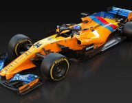 McLaren unveils special livery for Alonso farewell