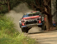 Ostberg grabs Rally Australia lead as Neuville's title hopes take a blow
