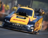 Todd clinches first NHRA Funny Car championship