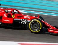 Vettel shrugs off Abu Dhabi test spin