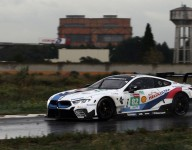 Zanardi completes first BMW M8 test in Rolex 24 prep