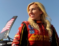 Courtney Force retires from racing