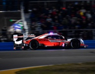 Rolex 24 Hour 11: Penske, WTR, AXR battle up front