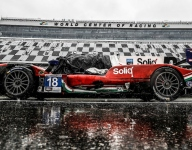Despite late crash, DragonSpeed wins Rolex LMP2 class by a nose