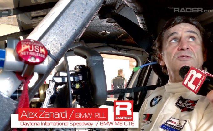 Inside Alex Zanardi's BMW hand controls