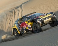Loeb wins Dakar Stage 2
