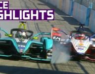 Santiago Formula E race highlights