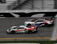 Zanardi's steering wheel switch causes trouble for No. 24 BMW