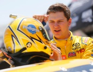 Todd Gilliland feeling pressure to deliver in '19