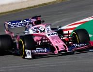 F1 Barcelona testing