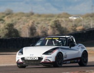 A better, faster, better-sounding MX-5 Cup car