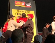 Menard draws pole for Clash race