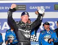 Harvick wins first Daytona Duel; Kligerman transfers