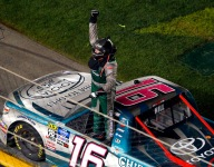 Hill grabs first Truck win as Daytona sets caution record
