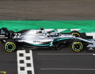 Mercedes runs W10 with updated livery for first time