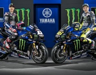 Yamaha reveals Monster Energy-backed MotoGP bikes for Rossi, Vinales