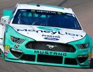 Blaney backs up his practice promise in Phoenix qualifying