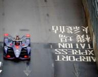 Frijns fastest in wet practice for Hong Kong Formula E