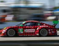 From Daytona wreck to Sebring second row for Pfaff Porsche