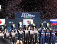 No. 8 Toyota crew edge closer to title with Sebring 1000 win