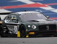 K-PAX Bentley leads GT practice