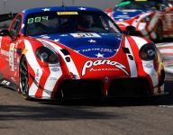 James' daring last-lap pass nets him St. Pete GT4 Sprint Race 1 win
