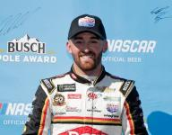 Dillon's second round speed secures Fontana pole