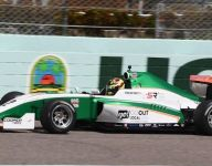 Juncos Racing's Robb tops the charts in Indy Pro 2000 spring training
