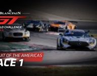 COTA World Challenge Race 1 replays