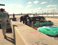 Loud and Loshak - video highlights from Sebring Trans Am opener