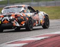 Mazda racer scores TCA podium at TC America's opener