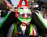 Kanaan, O'Ward sporting new F1-spec helmets