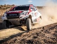 Alonso tests Toyota Dakar Rally winner