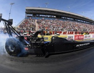 Still basking in first Top Fuel win, Salinas eyes Four-Wide sweep
